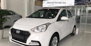 Hyundai Grand i10 Sedan 1.2L MT - AT số sàn và tự động màu trắng - đỏ có sẵn giao ngay. Khuyến mãi cực sốc giá 355 triệu tại Tp.HCM