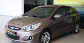 Bán ô tô Hyundai Accent Blue 1.4AT hatckbach 2014, màu nâu, nhập khẩu nguyên chiếc, 448tr giá 448 triệu tại Tp.HCM