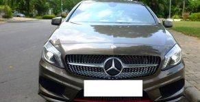 Mercedes A250 AMG màu nâu, sản xuất 2014, đăng ký 2015 biển Hà Nội giá 899 triệu tại Hà Nội