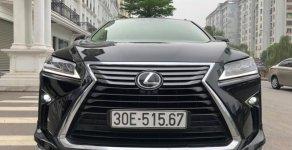 Bán ô tô Lexus RX350 L đời 2017, màu đen, xe nhập giá 3 tỷ 850 tr tại Hà Nội