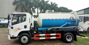 Xe hút hầm cầu 5 khối nhập khẩu giá 590 triệu tại Hà Nội