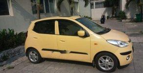 Bán ô tô Hyundai i10 đời 2010, màu vàng, đi được khoảng 86.000km giá 275 triệu tại Tp.HCM