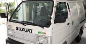 Bán xe Suzuki Carry Blind Van sx 2018, số tay, máy xăng, màu trắng, nội thất màu ghi giá 293 triệu tại Hà Nội