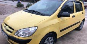 Bán Hyundai Getz 1.4 AT đời 2008, màu vàng, nhập khẩu   giá 218 triệu tại Hà Nội