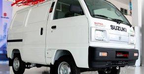 Bán ô tô Suzuki Blind Van 495 chạy giờ cấm số tay đời 2018, màu trắng giá 293 triệu tại Tp.HCM