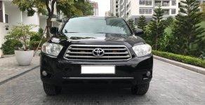 Bán Toyota Highlander LE năm 2008, màu đen, nhập khẩu giá 710 triệu tại Hà Nội