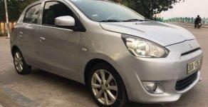 Cần bán gấp Mitsubishi Mirage MT sản xuất 2014, màu bạc, xe gia đình sử dụng tiết kiệm nhiên liệu giá 240 triệu tại Hà Nội
