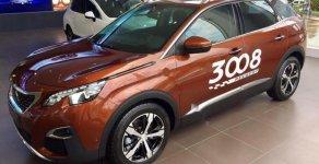 Bán xe Peugeot 3008 1.6 AT năm sản xuất 2019, màu nâu giá 1 tỷ 199 tr tại Hà Nội