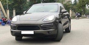 Bán xe Porsche Cayenne năm sản xuất 2011, màu nâu, nhập khẩu giá 2 tỷ 150 tr tại Hà Nội