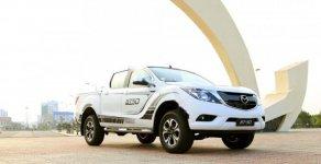 Cần bán Mazda BT 50 2.2L 4x2 AT 2018, màu trắng, nhập khẩu giá 645 triệu tại Quảng Bình