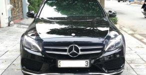 Bán Mercedes C300 AMG 2.0 AT đời 2017, màu đen giá 1 tỷ 580 tr tại Hà Nội