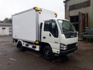 Bán xe Isuzu thùng composite dài 3m6 bửng nâng 1T4-1T9-2T4 giá 485 triệu tại Tp.HCM