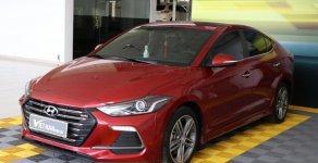 Bán Hyundai Elantra turbo 1.6AT sản xuất 2018, màu đỏ giá 708 triệu tại Tp.HCM