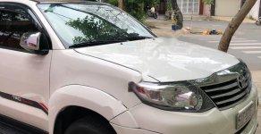 Cần bán gấp Toyota Fortuner TRD Sportivo 4x2 AT 2015, màu trắng  giá 820 triệu tại Tp.HCM