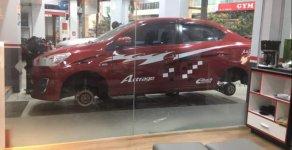 Bán Mitsubishi Attrage năm 2016, màu đỏ, xe nhập xe gia đình giá 430 triệu tại Hà Nội