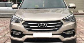 Bán Hyundai Santa Fe 2.2 CRDI năm sản xuất 2017, màu vàng giá 1 tỷ 120 tr tại Hà Nội