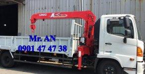 LH: 0901 47 47 38 - Xe tải cẩu Hino 5 tấn, thùng 6.1m, cẩu Unic mới 100% giá 1 tỷ 390 tr tại Tp.HCM