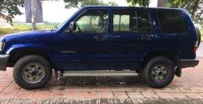 Bán ô tô Isuzu Trooper sản xuất 2002, màu xanh lam, nhập khẩu, giá 100tr giá 100 triệu tại Hà Nội