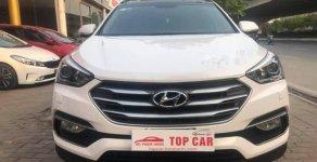 Bán Hyundai Santa Fe 2.2CRDI năm sản xuất 2017, màu trắng giá 1 tỷ 120 tr tại Hà Nội