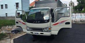 Cần bán xe tải JAC năm sản xuất 2019, thùng lửng màu xanh giá 380 triệu tại Tp.HCM