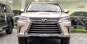 Cần bán xe Lexus LX 570 Luxury model 2019, nhập Mỹ, màu vàng cát, xe nhập Mỹ, mới 100%, LH 0905.09.8888 - 0982.84.2838 giá 8 tỷ 950 tr tại Tp.HCM