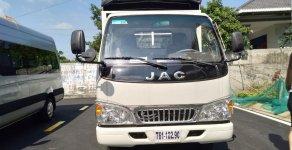 Bán xe tải JAC 2T4 động cơ Isuzu, thùng mui bạt, kích thước lòng thùng dài 4m3 giá 385 triệu tại Tp.HCM