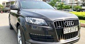Audi Q7 nhập Đức model 2008 hàng full, xe đã lên form 2011 rất đẹp, màu nâu vào đủ đồ chơi, số tự động 8 cấp giá 598 triệu tại Tp.HCM