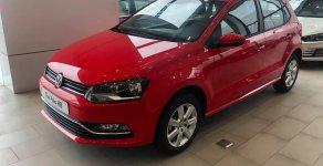 Bán ô tô Volkswagen Polo 2019, màu đỏ, nhập khẩu giá cạnh tranh giá 599 triệu tại Tp.HCM