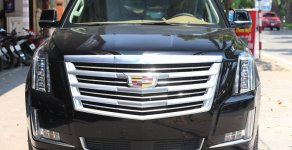 Bán Cadillac Escalade ESV Platinium đời 2017, màu đen, nhập khẩu nguyên chiếc giá 6 tỷ 800 tr tại Hà Nội