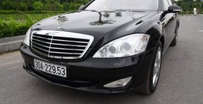 Bán Mercedes S350L sản xuất năm 2007, màu đen, máy móc zin, hộp số zin, không đâm đụng, nội thất zin giá 868 triệu tại Hà Nội