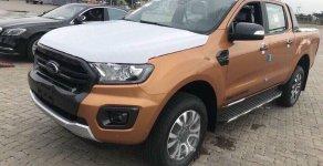 Bán Ford Ranger Wildtrak 2.0 4x4 Biturbo sản xuất 2019, màu cam, nhập khẩu giá 883 triệu tại Hà Nội