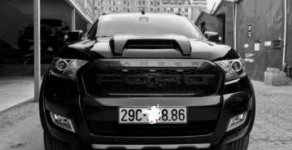 Cần bán lại xe Ford Ranger Widtrak 3.2 2017, màu đen, nhập khẩu chính chủ, giá tốt giá 820 triệu tại Hà Nội