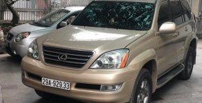Bán Lexus GX 470 sản xuất 2007, màu vàng, nhập khẩu   giá 1 tỷ 90 tr tại Hà Nội