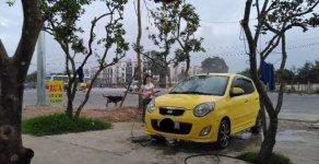 Cần bán xe Kia Morning AT sản xuất 2010, màu vàng, biển HN, bảo dưỡng định kỳ hãng 4 nghìn km 1 lần giá 240 triệu tại Hà Nội