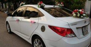 Bán Hyundai Accent 1.4MT 2014, màu trắng, xe gia đình  giá 395 triệu tại Tp.HCM