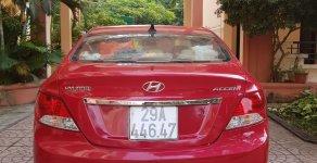 Cần bán xe Hyundai Accent AT 2012 màu đỏ, nhập khẩu nguyên chiếc giá 365 triệu tại Hà Nội