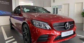 [Đón xuân 2020] Mercedes C300 AMG 2019, màu đỏ, khuyến mãi hấp dẫn, vay trả góp 80%, LS 0.77%/tháng cố định 36 tháng giá 1 tỷ 897 tr tại Tp.HCM