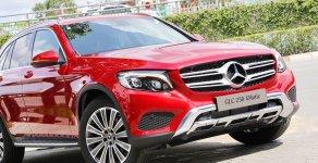 [Đón xuân 2020] xe Mercedes GLC 250 2019 mới, màu đỏ, vay trả góp 80% giá trị xe, LS 0.77%/tháng cố định 36 tháng giá 1 tỷ 989 tr tại Tp.HCM