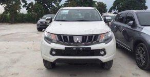 Đại lý chính hãng Mitsubishi Long Biên bán xe Mitsubishi Triton AT đời 2019, màu trắng giá 570 triệu tại Hà Nội