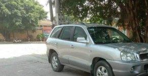 Bán Hyundai Santa Fe đời 2004, màu bạc, nhập khẩu chính chủ giá 268 triệu tại Hà Nội