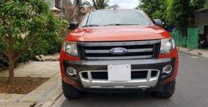 Bán Ford Ranger Sx 2014 Wildtrak 3.2, số tự động, màu cam giá 625 triệu tại Tp.HCM
