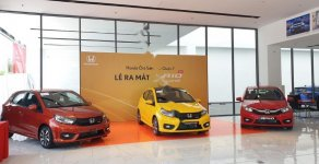 Bán xe Honda Brio RS năm sản xuất 2019, màu vàng, xe nhập  giá 450 triệu tại Tp.HCM