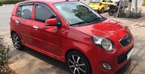 Cần bán xe Kia Morning 2011 số tự động, màu đỏ giá 267 triệu tại Tp.HCM