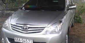 Bán Toyota Innova G đời 2010, màu bạc xe gia đình, giá 500tr giá 500 triệu tại Đồng Tháp
