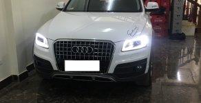Bán xe Audi Q5 2.0 TFSI màu trắng/ đen sản xuất cuối 2016 nhập khẩu đăng ký 2017 giá 1 tỷ 750 tr tại Hà Nội
