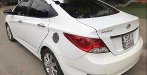 Bán xe Hyundai Accent 2014, máy 1.4 MT, số sàn, xe gia đình ít đi nên còn rất mới giá 395 triệu tại Tp.HCM