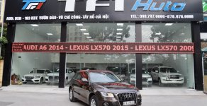 Bán Audi Q5 Sx 2014, màu nâu, nhập khẩu giá 1 tỷ 350 tr tại Hà Nội