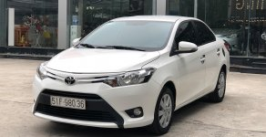 Bán Toyota Vios E 1.5 MT 2016, số sàn, màu trắng, hỗ trợ trả góp giá 420 triệu tại Hà Nội