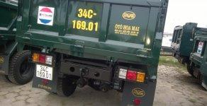 Yên bái bán xe tải ben Hoa Mai 4 tấn nâng tải từ 1.5 tấn lên có phanh hơi, thùng 4 khối đời 2019 giá 325 triệu tại Yên Bái