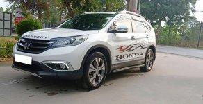 Cần bán xe Honda CRV 2.4 model 2015, màu trắng bản full option giá 773 triệu tại Tp.HCM